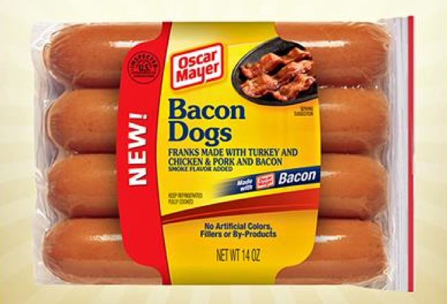 Oscar Mayer's New Products Include The Bacon Dog