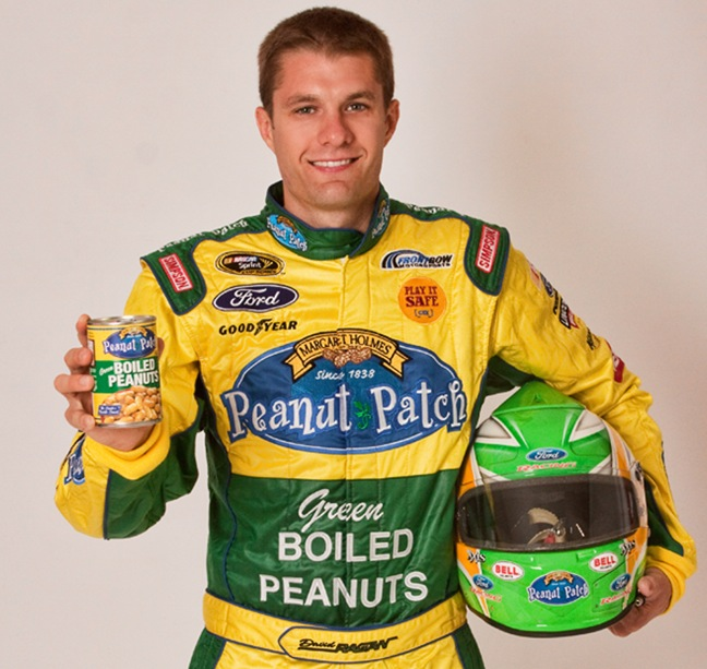 Peanut Patch sponsors Ragan on May 11, 2013