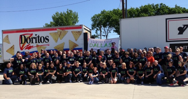 PepsiCo, Albertsons and Feed the Children in Dallas, Texas; May 2013