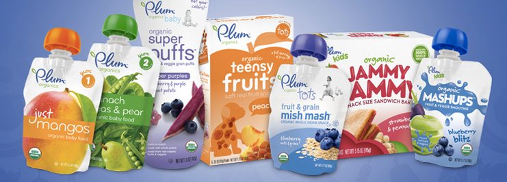 Campbell Soup To Buy Baby Food Company Plum Organics