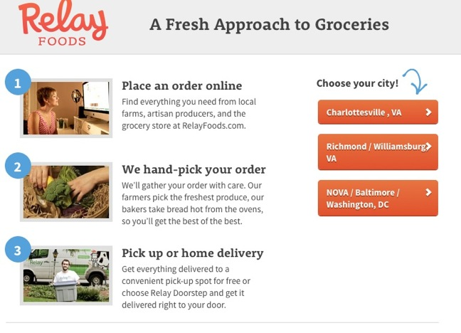 Relay Foods Expands Grocery Delivery Service To Williamsburg, Va.