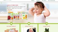 Sprout Foods website front