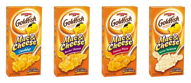 Pepperidge Farm Introduces Goldfish Mac & Cheese