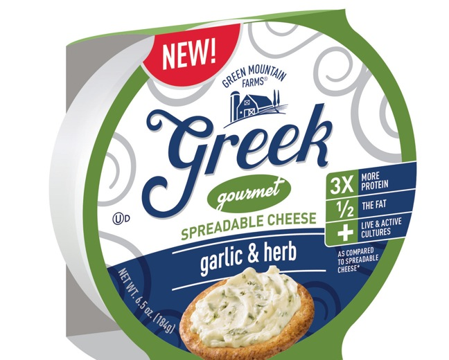 Franklin Foods Launches Industry's First Greek Spreadable Cheese