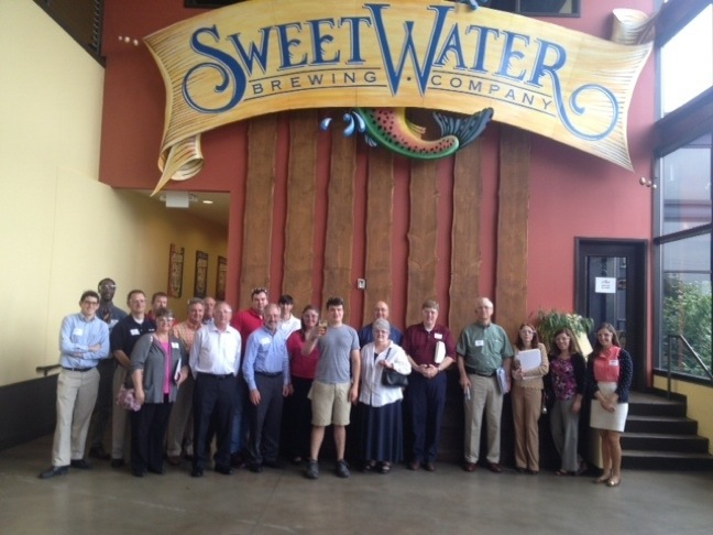 GFIA Hosts Independent Education Seminar At Sweetwater Brewing