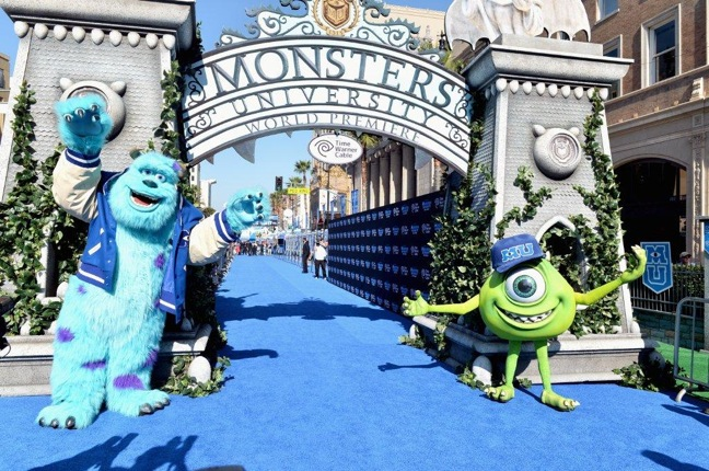 Crunch Pak's Blue Raspberry Flavored Apples Promote 'Monsters' Movie