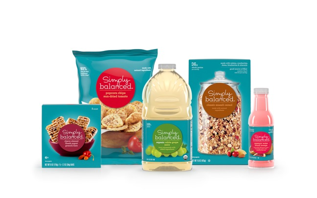 Target Introduces 'Simply Balanced' Wellness Food Brand