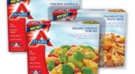 Atkins' new frozen meals