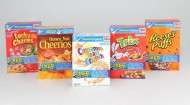 Big G Cereal boxes