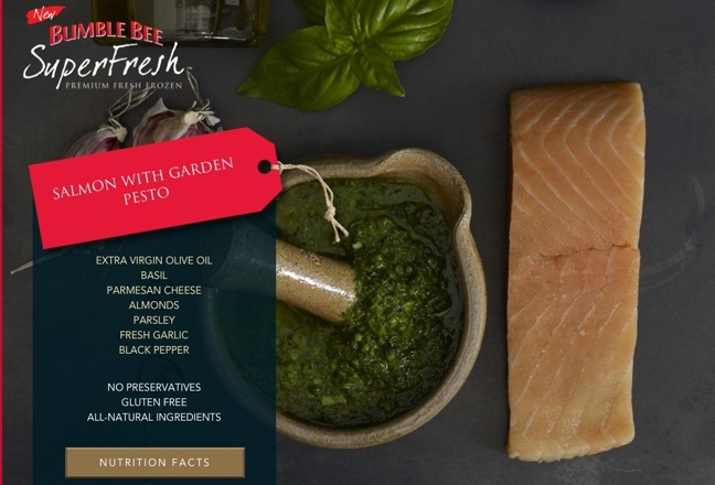 Bumble Bee Introduces 'SuperFresh' Premium Frozen Seafood
