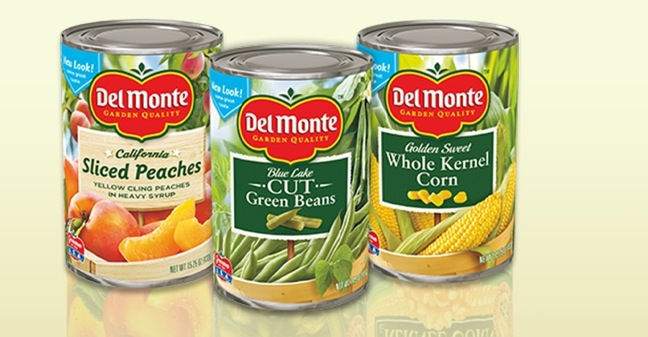 Del Monte canned food products