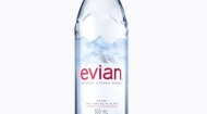 EVIAN NORTH AMERICA NEW BOTTLE