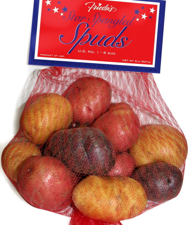 Frieda's Star Spangled Spuds