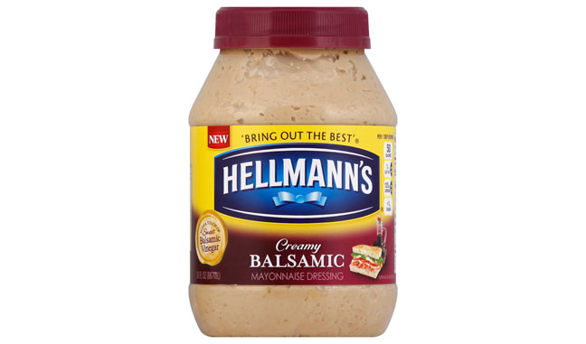 Hellmann's Rolls Out Creamy Balsamic Mayonnaise Dressing