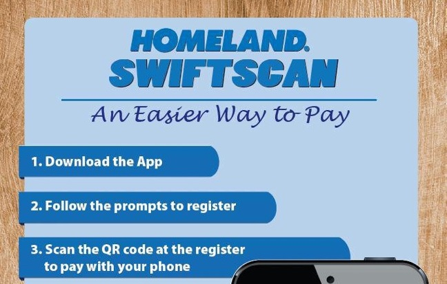 New App Allows Homeland's Customers To Pay With Smartphones