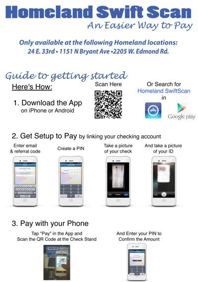 Homeland mobile app