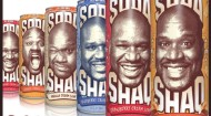 Shaq Soda line from AriZona Beverages
