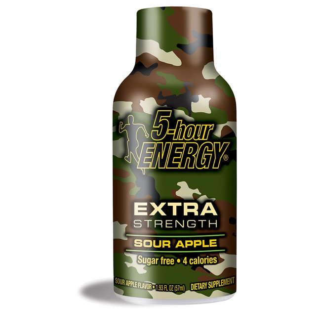 Sour Apple Extra Strengh 5-hour Energy