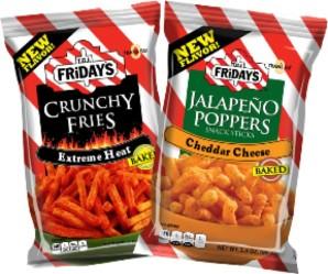 Inventure Foods and TGI Fridays snacks