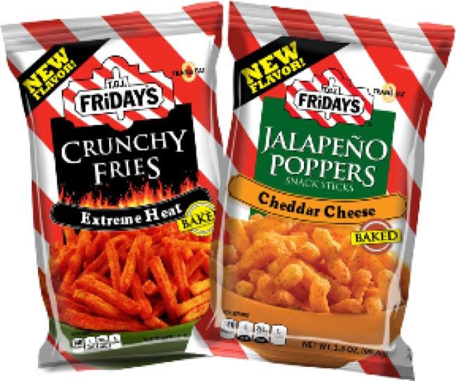 Inventure Foods and TGI Fridays snacks