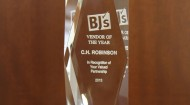 BJ's Perishable Vendor of the Year Award