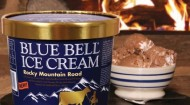 Blue Bell Rocky Mountain Road ice cream