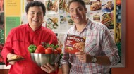 Chef Lucien and Jeff Mauro