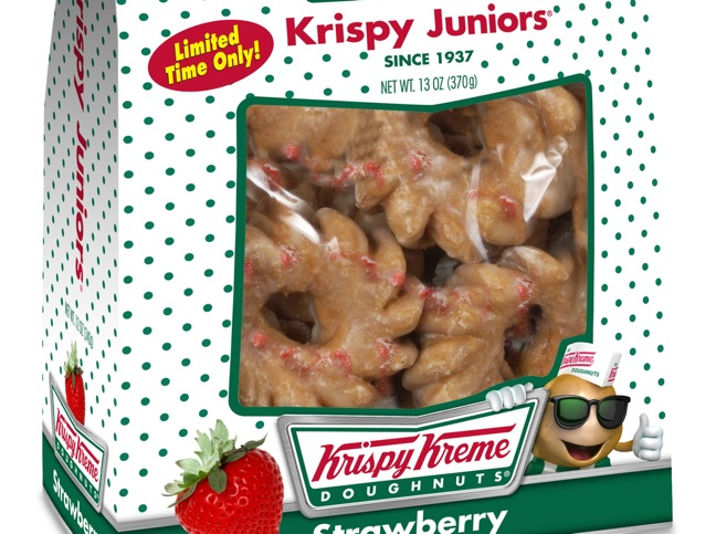 Seasonal Snacks From Krispy Kreme Available Now