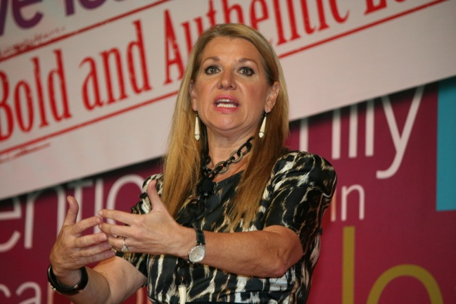 HSN's Mindy Grossman talks to NEW at Forum