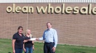 Olean donation to United Way