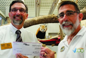 B&R Stores Donates To Lincoln Children's Zoo And Its Red Pandas