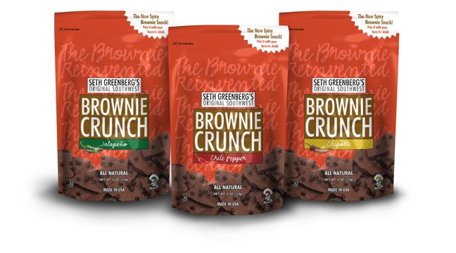 Brownie Crunch Introduces Southwest Flavors