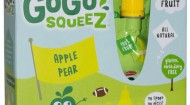 GOGO SQUEEZ APPLEPEAR FLAVOR