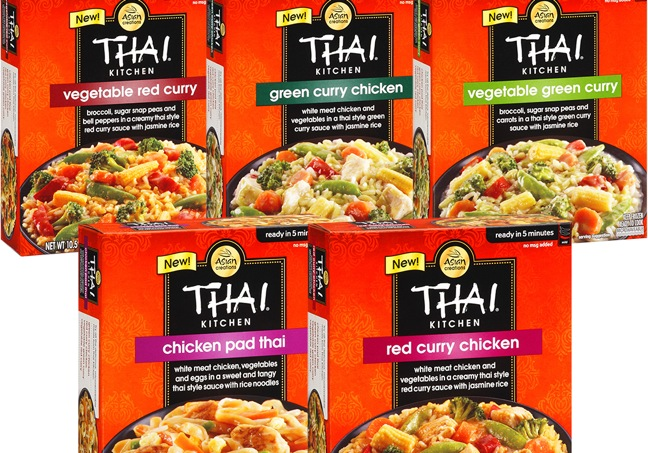 Thai Kitchen thai kitchen enters frozen aisle with new entrees