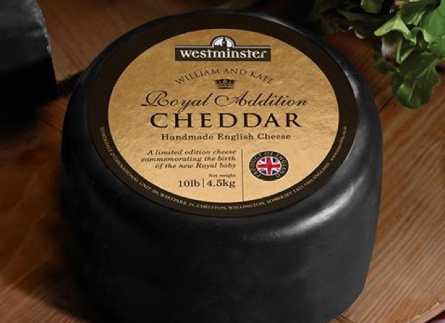 Whole Foods Launches William & Kate Royal Addition Cheddar Cheese
