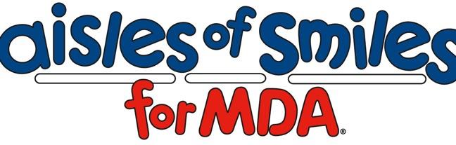 Aisles of Smiles for MDA logo