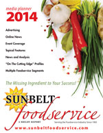 2014 Sunbelt Foodservice Media Guide