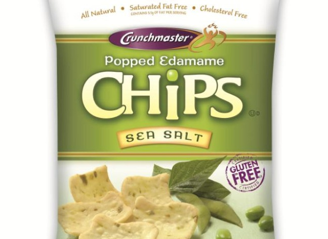 Crunchmaster Rolls Out Popped Edamame Veggie Chips