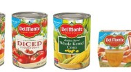DEL MONTE FOODS NEW PACKAGING