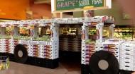 Welch's grape display