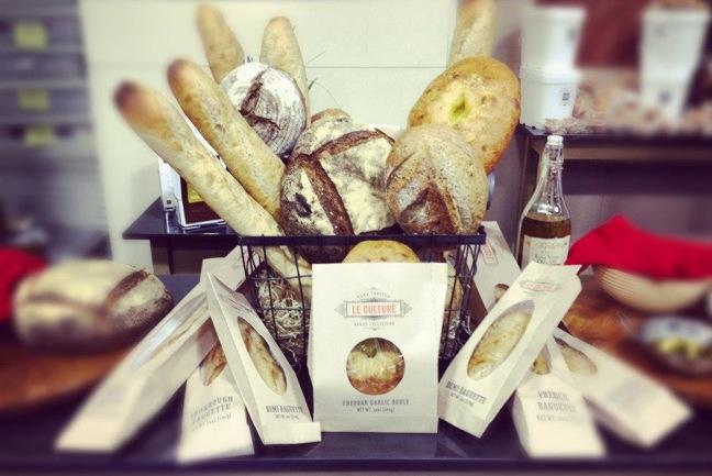 Le Culture bread collection