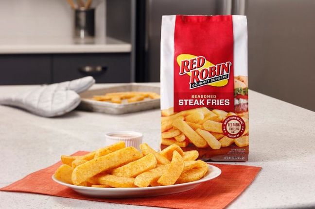 Red Robin Releases Steak Fries At Grocery Retail