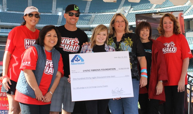 Albertsons check presentation