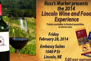 Russ's-Sponsored Lincoln Wine And Food Event Coming In February