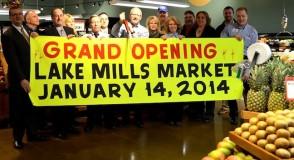 Lake Mills Market grand opening