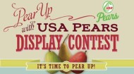 Pear display contest image