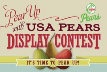 Nationwide USA Pears Display Contest Begins Next Month