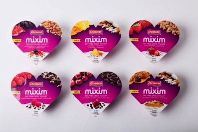 Ehrmann Mixim Greek Yogurt Hits Stores In Six Flavor Combos