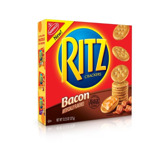 Ritz Bacon Flavored Crackers Available Now