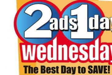 Stater Bros. Launches 2-Ads-1-Day Wednesdays